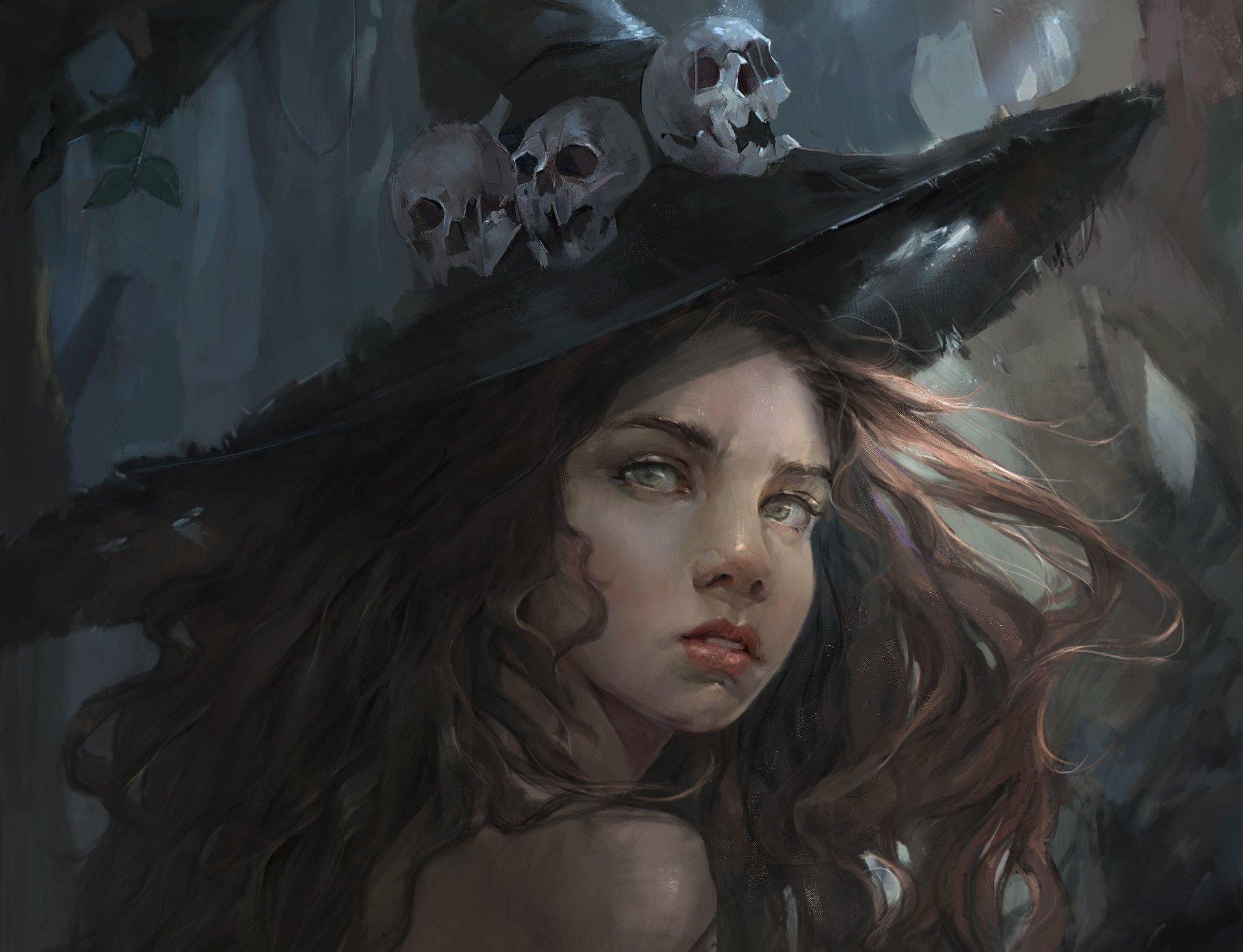 Картинки ведьмы, тему продавец для