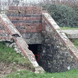 Призрак в бункере Второй Мировой