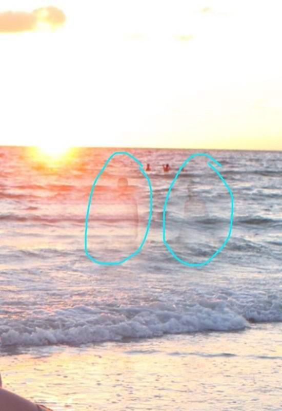 Призраки на пляже