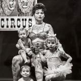 Было время когда женщин с татуировками можно было увидеть исключительно в цирках.