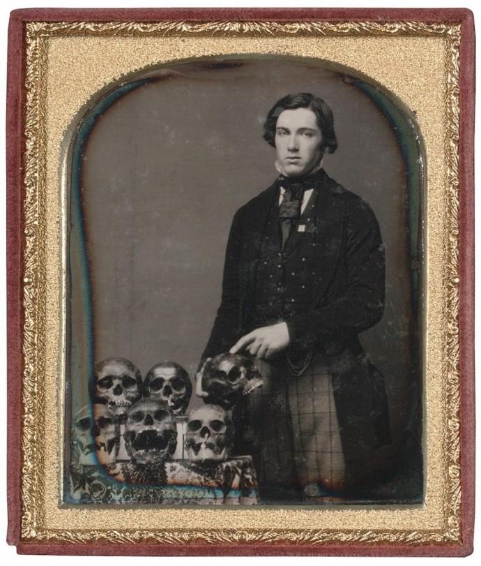 Мужчина и его коллекция, 1850 год