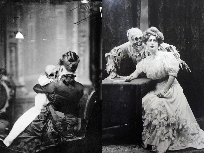 """Викторианские женщины и их """"гости"""", 1890-е гг."""