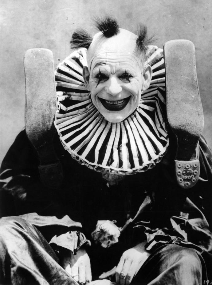 Весёлый клоун, 1924 год