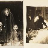 Призрак на фотографиях, примерно 1920 год