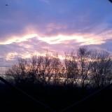 Фотография НЛО в небе