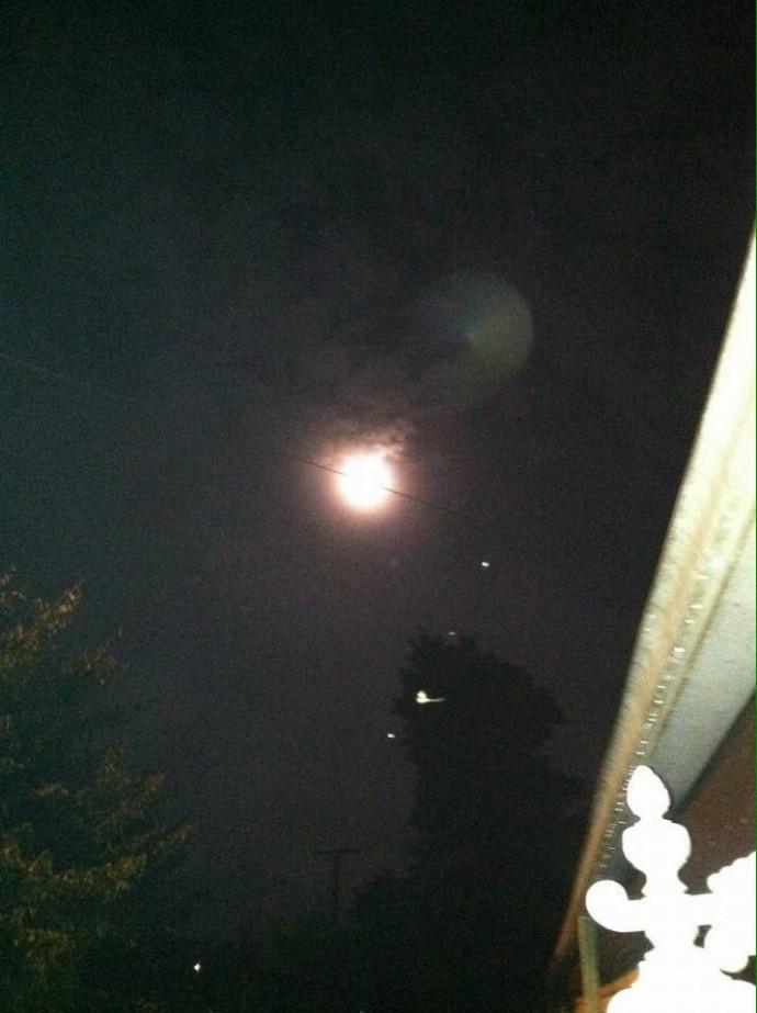 НЛО над Западной Виргинией