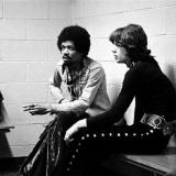 Джими Хендрикс и Мик Джаггер – 1969 год