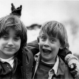 Элайджа Вуд и Маколей Калкин – 1993 год