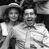 Дайан Китон и Аль Пачино на съемках фильма «Крестный отец» — 1972 год