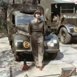 Королева Елизавета на службе во время Второй мировой
