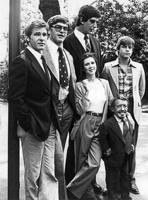 Незадолго до съемок Star Wars