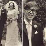 Стивен Хокинг со своей невестой Джейн Уайлд