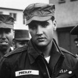 Элвис Пресли во время службы в армии США – 1958 год