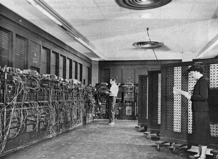 Самый первый компьютер ENIAС