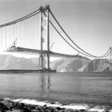 Строительство моста Золотые Ворота – 1937 год