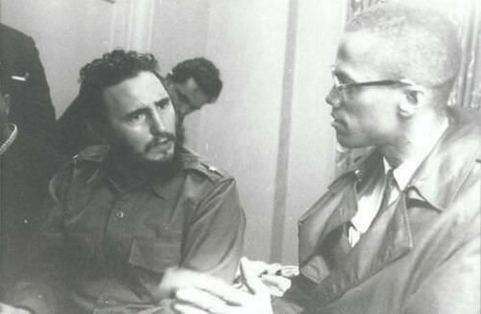 Фидель Кастро и Малкольм Икс обсуждал политику и семью – 1960