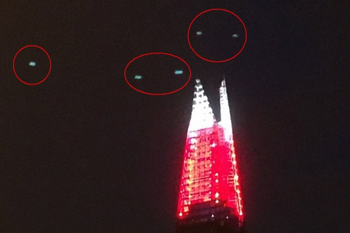 Фото НЛО в Лондоне