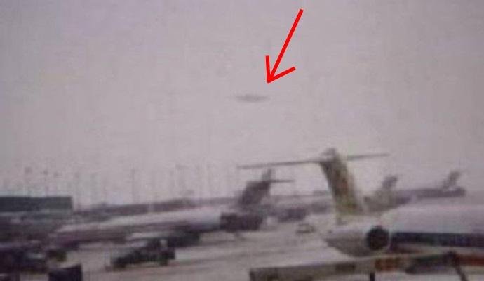 НЛО в аэропорту Индии