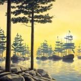 Картины иллюзии Роберта Гонсалвиса