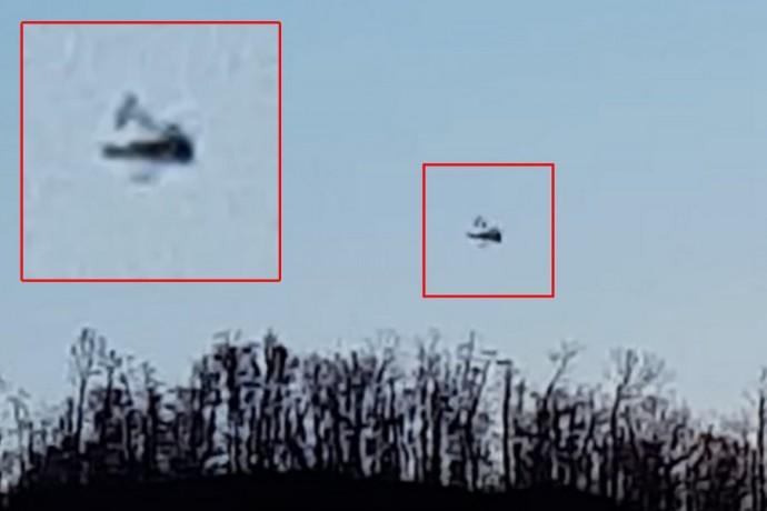 Фотография странного НЛО
