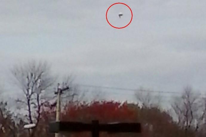 НЛО в пригороде Вашингтона