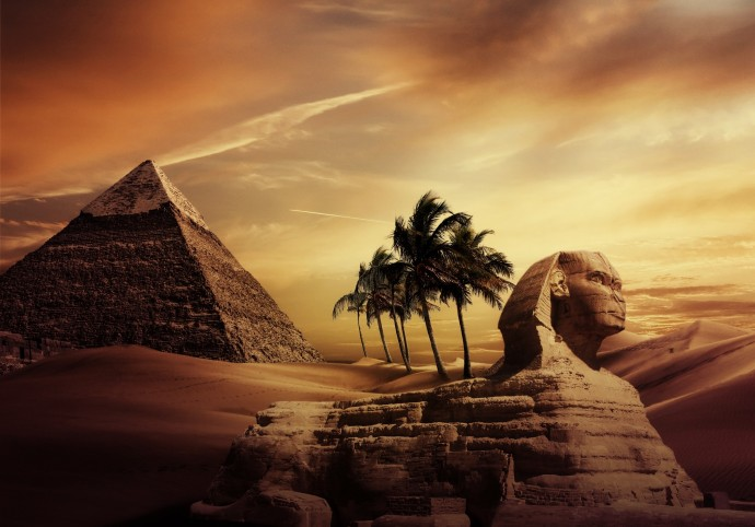 "a description of the pyramids at giza as a mystery for people as the world for thousand of years Archeologists solved many years real mystery how many people built as the great pyramid"" at giza, the largest stone pyramid in the world."