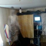 Привидение у себя в комнате,в левом углу