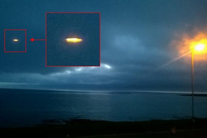 Фотография НЛО в Шотландии