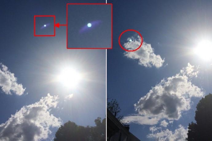 Круглый НЛО в Бостоне