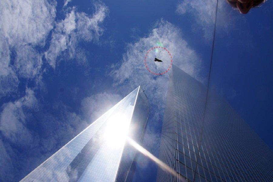 Фотография НЛО в Нью-Йорке