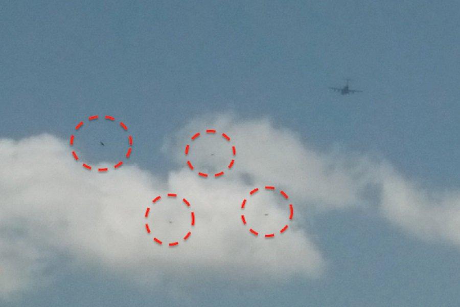 4 НЛО над Мемфисом