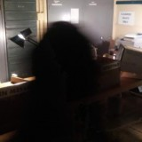Фотография призрака в бункере