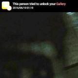 Фото призрака пытавшегося взломать телефон