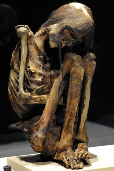 Мумия взрослого мужчины из пре-Колумбийской пустыни Атакама