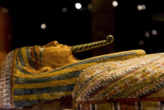 Саркофаг египетского священника по имени Нес-Па-Ка-Шути, датируемый 650 годов до н.э.