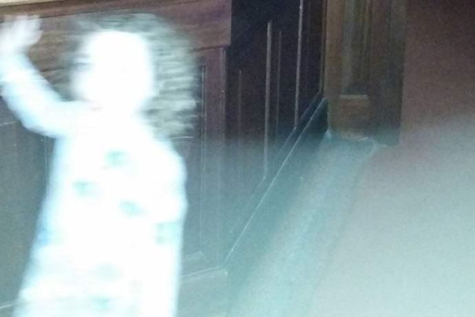 Чёткая фотографии призрака