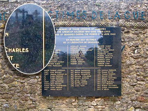 «В 2008 году мы с женой отдыхали в Нормандии и посетили старое кладбище и руины собора в Гренье. Я сделал единственную фотографи