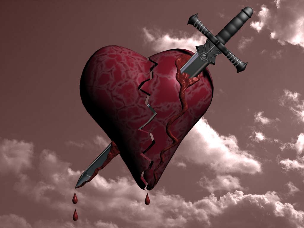 картинки с израненным сердцем