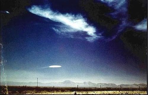 НЛО в Нью-Мехико, 1957...