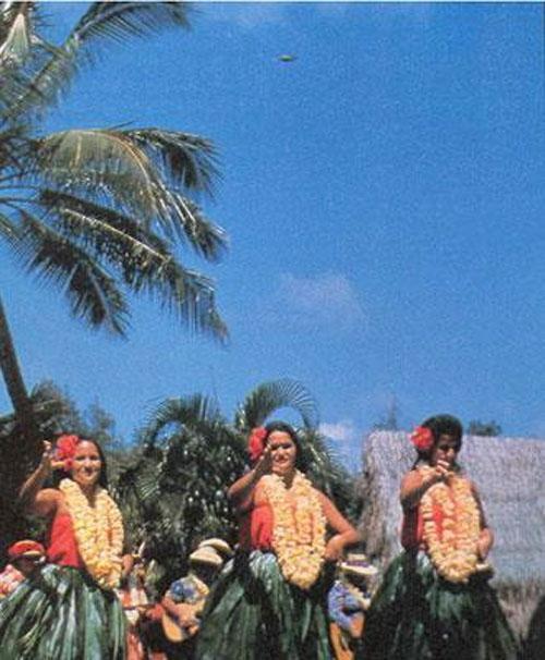 НЛО в Гавайях, 1974 год...