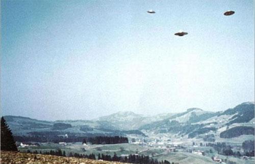 НЛО в Швейцарии, 1976 год...