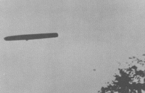 НЛО в Род Айленде, 1967 год...