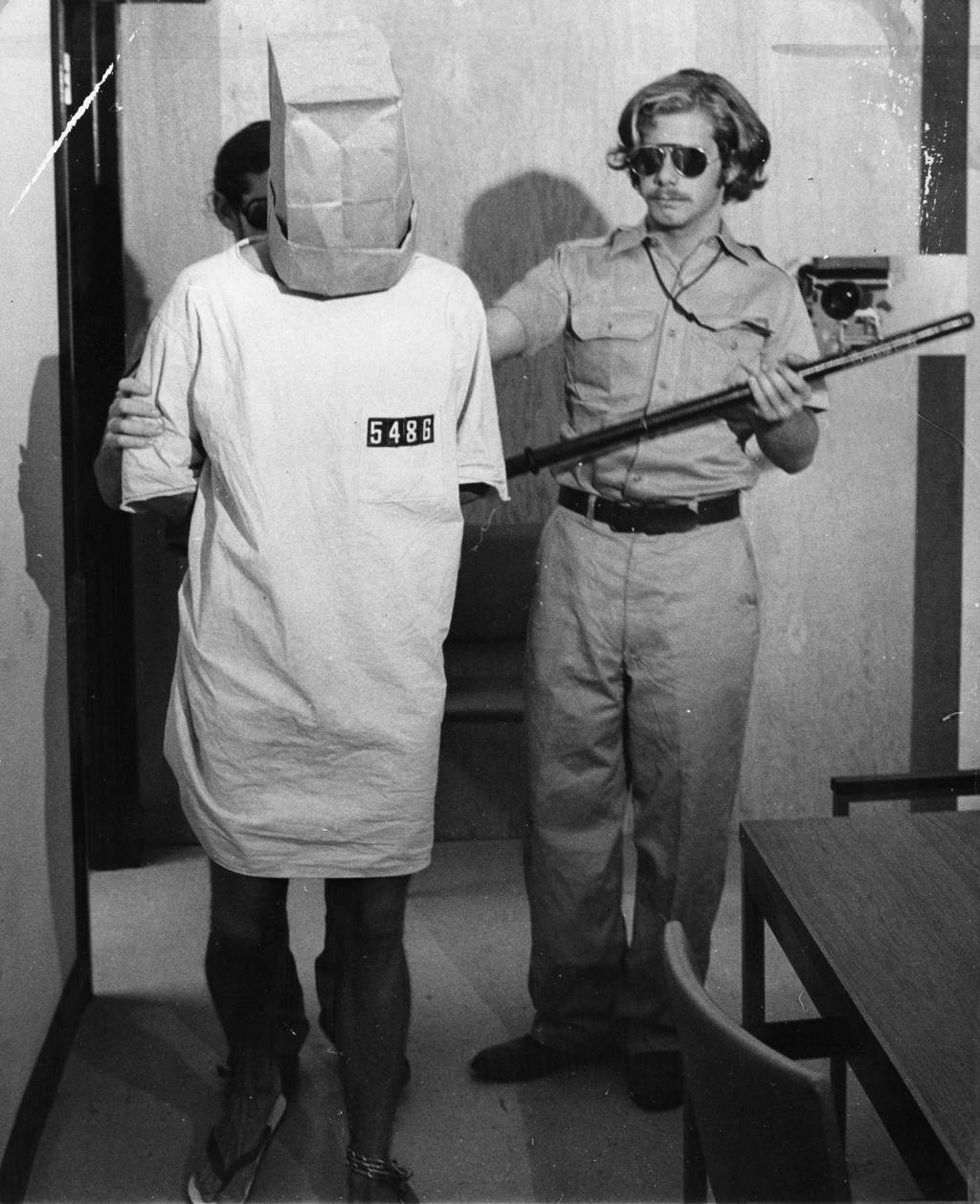 zimbardo prison eperiment Stanford prison experiment had elements of social structure of a real-life prison zimbardo himself held ultimate master status as the warden participants were selected by zimbardo for the.