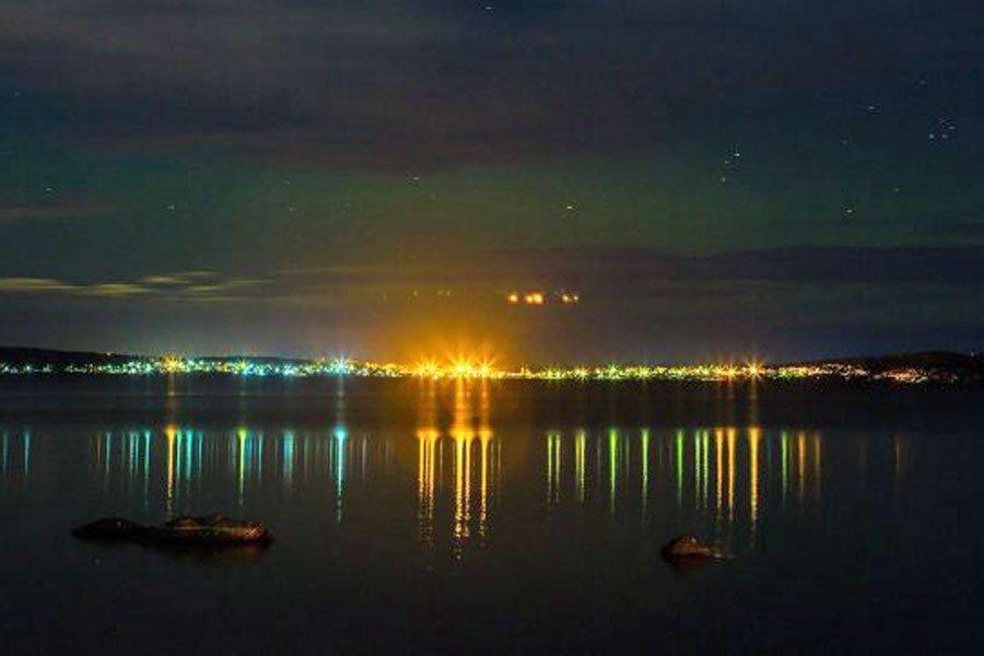 Фото НЛО над Петрозаводском