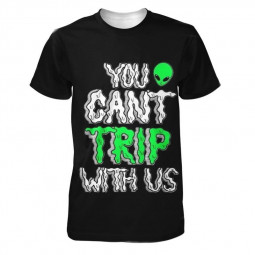 Футболка You can't trip with us
