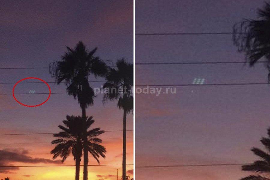 НЛО во Флориде после урагана «Мэттью»