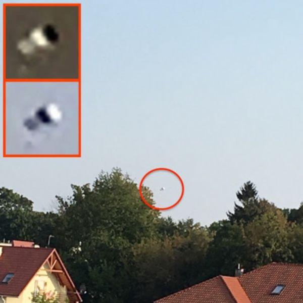 Медузообразный НЛО над Польшей