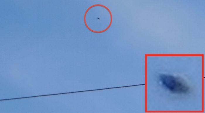 Дискообразный НЛО над Бэй Вилладж