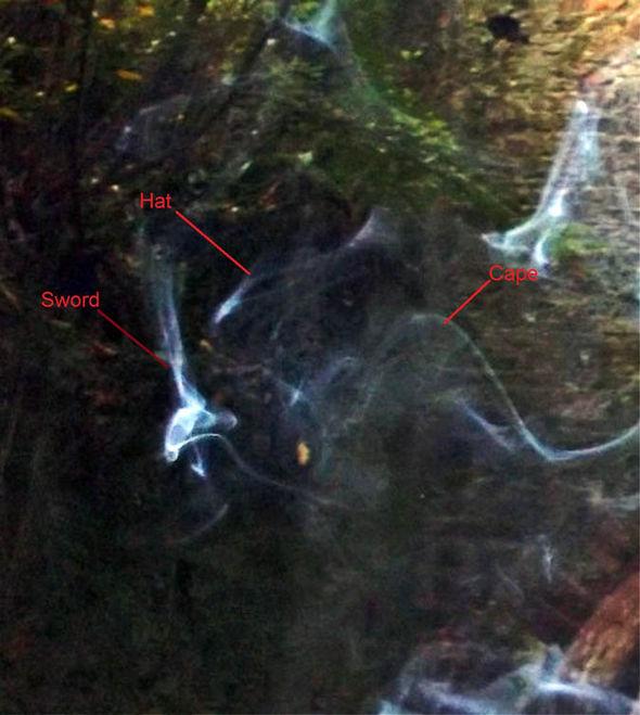 Призрак Робин Гуда сняли в Девоне