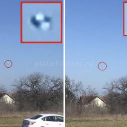 Фотография НЛО в Техасе